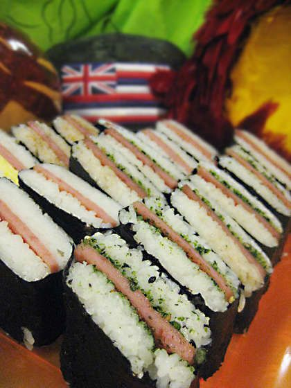 Spam Musubi - Instructables...how to make... great for picnics... had these all the time when we lived in Hawaii