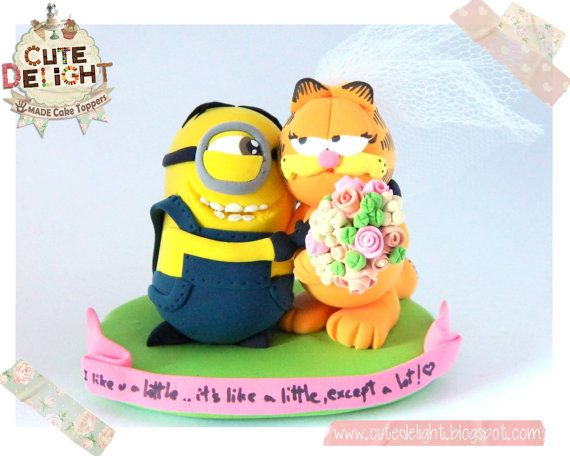 https://www.etsy.com/listing/182706658/minion-cake-topper-garfield-cake-topper