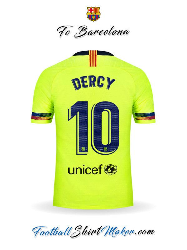 111b714c478b2 Camiseta FC Barcelona 2018 19 II Dercy 10
