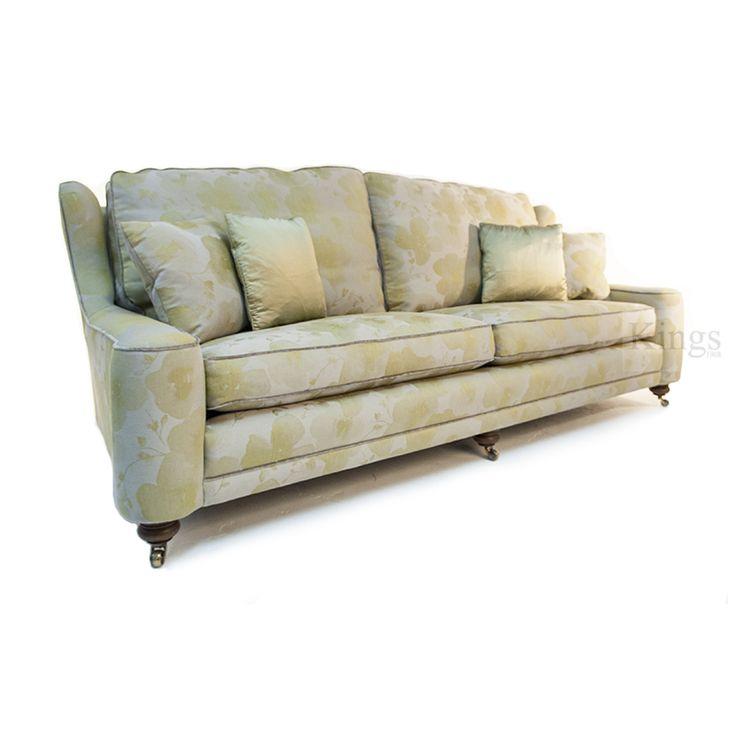 #johnsankey Renishaw kings size#sofa in soft citrine http://www.kingsinteriors.co.uk/
