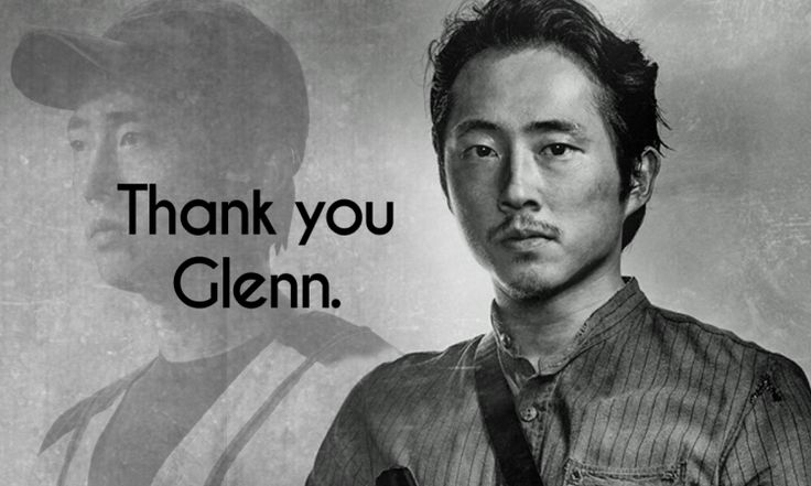 Thank You Glenn Rhee + Steven Yeun - Oh So Geeky