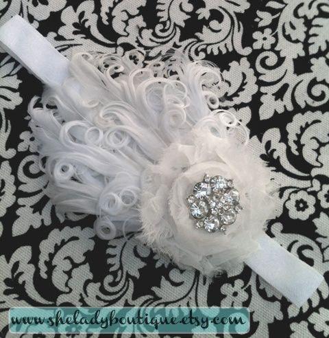 hair band idea for baptism