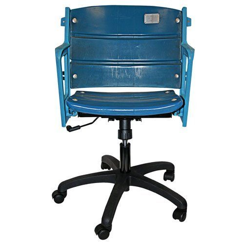 Steiner Sports MLB New York Yankees Sports Themed Office Chair - Authentic Yankee Stadium Seat by Steiner Sports. $799.99. Authenticated by Major League Baseball and Steiner Sports.. Great item for any baseball fan.. Actual Seat from the Original Yankee Stadium. Become the talk of your office.. These authentic and legendary blue Yankee Stadium seats, pried from within baseball's cathedral in the Bronx, are now available for fans to take a seat in history. Thi...