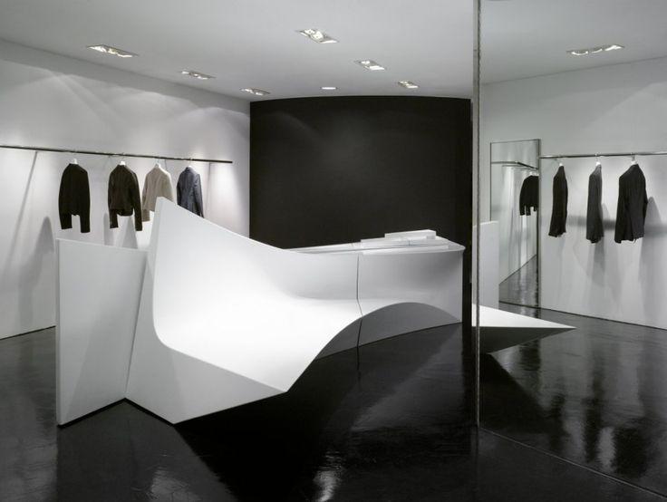 Zaha Hadid Shop Interior - Japan - Google zoeken
