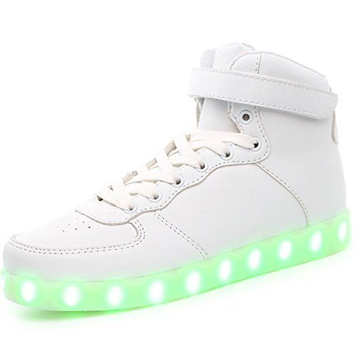 Hucook Flashing Sneakers 11 Colors Shiny Night LED Shoes ... https://smile.amazon.com/dp/B073P4DF94/ref=cm_sw_r_pi_dp_U_x_tGzOAbHTPND6G