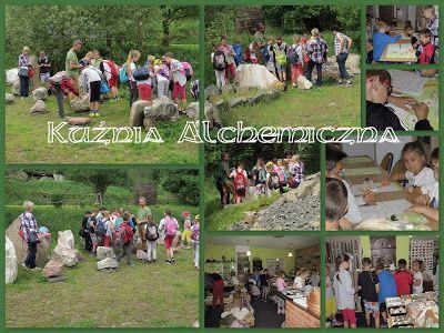 Kuźnia Alchemiczna: Geologiczne warsztaty dla wycieczek szkolnych