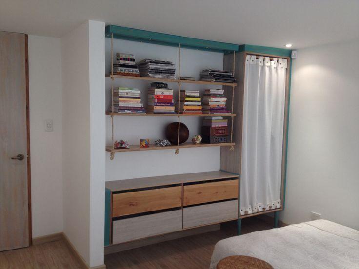 Closet. (Mueble instalado) Diseño y Fabricación, eColor - Idearion, Calle 85 # 14-44. Bogotá - Colombia