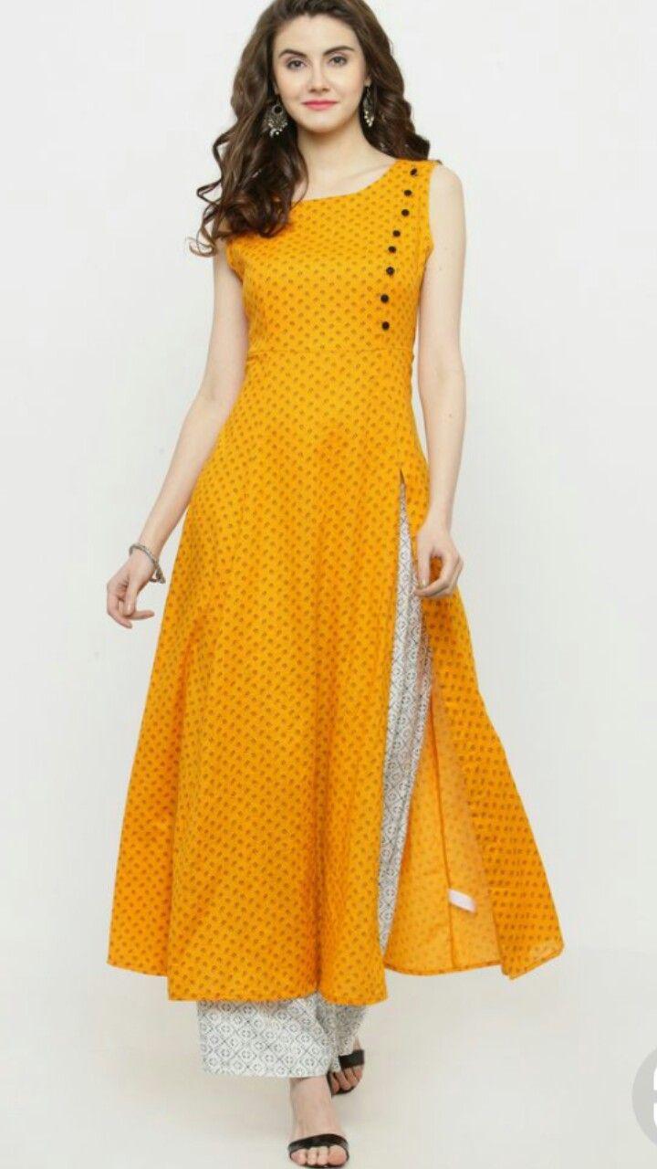 Edith Kurtis for Women Ready to Wear Womens Indian Designer Straight Kurta Kurti
