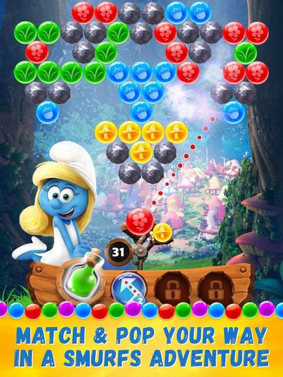 Smurfs Bubble Story by Sony Pictures Television