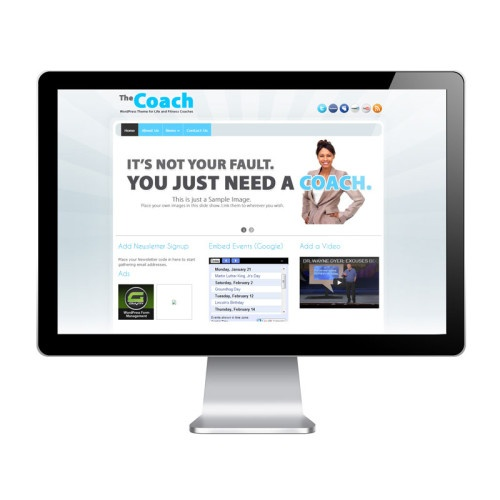 Ideal for: Life Coaches, Fitness Coaches & Personal Trainers