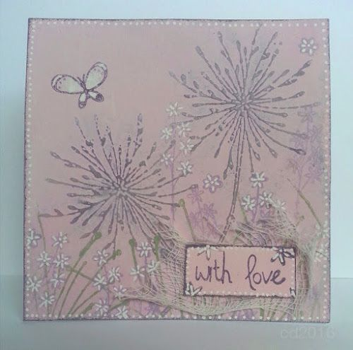Sketching Stamper: Paperartsy stamp Release - Kay Carley - Cosmos and Alliums