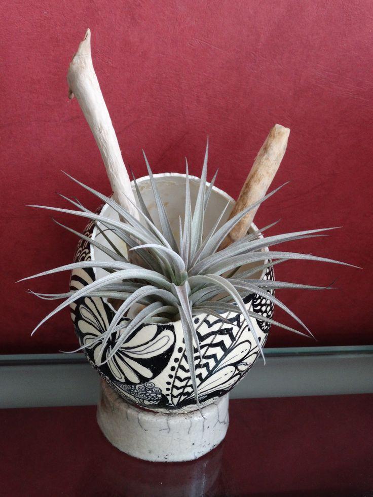 coquille d'oeuf d'autruche décorée zendalas : Accessoires de maison par artipot