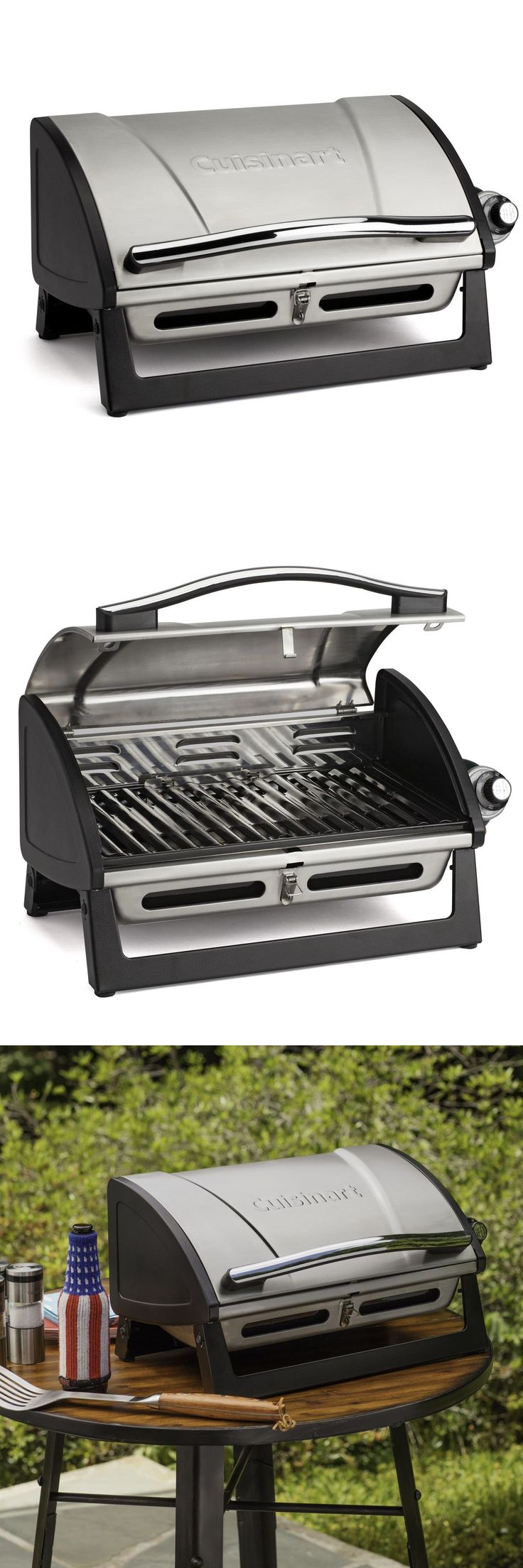 Barbecues Grills and Smokers 151621: Cuisinart Cgg-059 Grillster 8,000 Btu Portable Gas Grill -> BUY IT NOW ONLY: $65 on eBay!