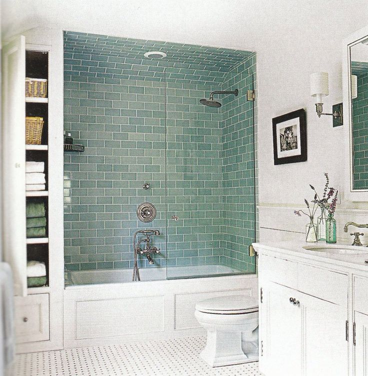 Tile color...too light, too green?