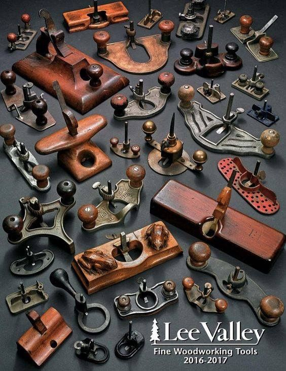A lot of old style hand router planes