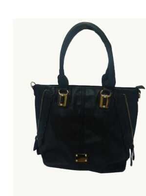 Mirac Black PU Ladies Shoulder Bag