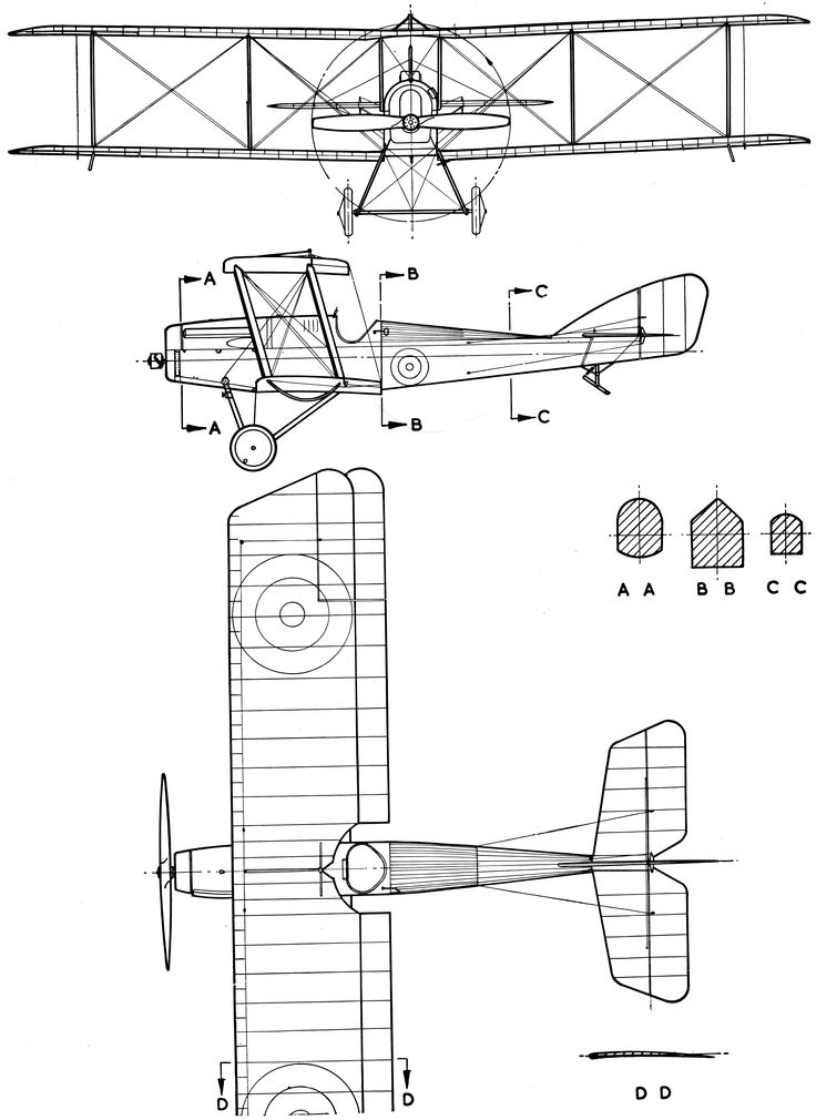 109 best blueprints images on pinterest aircraft airplane and martinsyde g100 blueprint malvernweather Choice Image