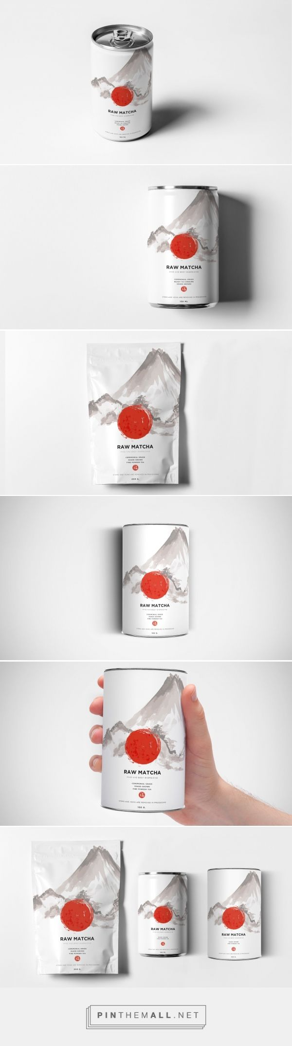 Raw Matcha (Concept) - Packaging of the World - Creative Package Design Gallery - http://www.packagingoftheworld.com/2016/10/raw-matcha-concept.html