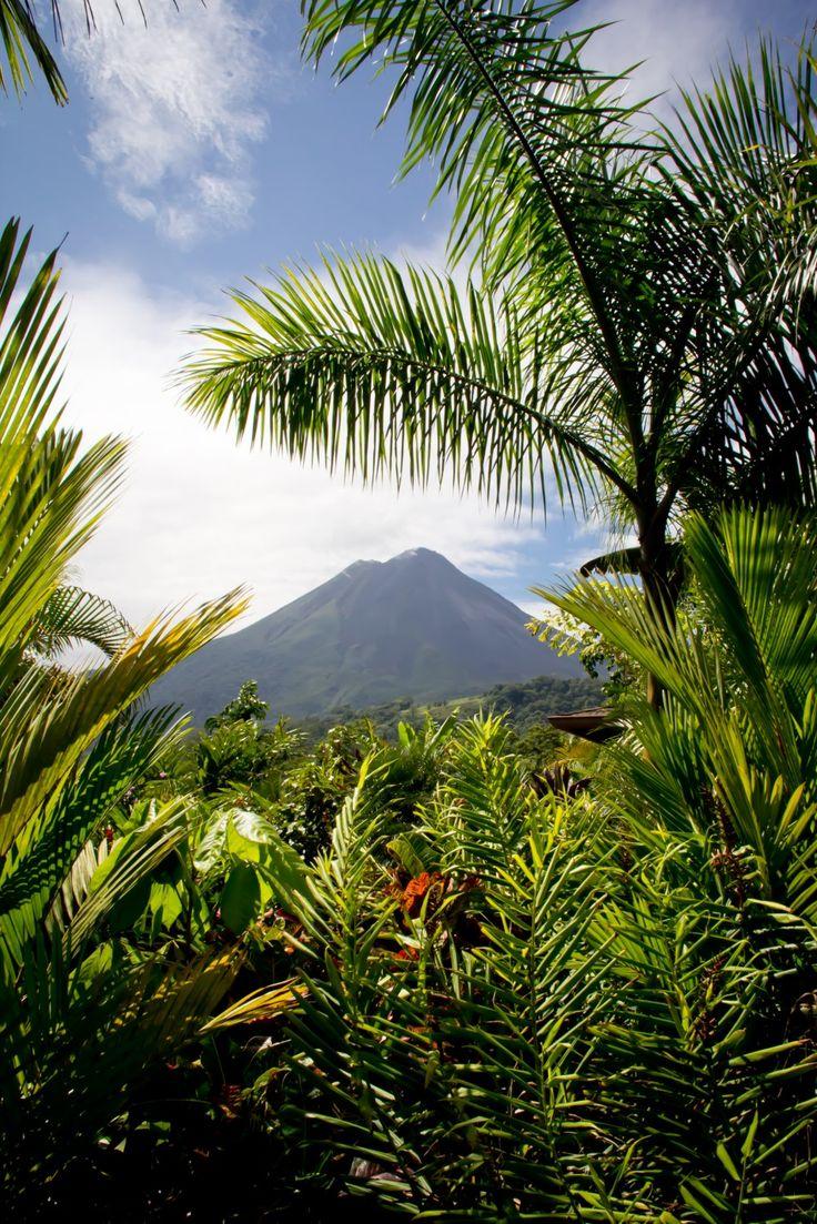 Arenal Volcano!  La Fortuna, Costa Rica #travel #traveltips #beautifulplacesintheworld  http://travelideaz.com/