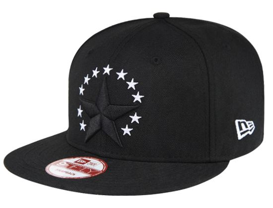 Black Stars 9Fifty Snapback Cap by NEW ERA