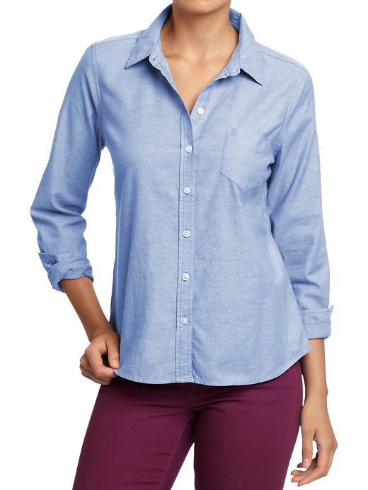 women's oxford shirt ON