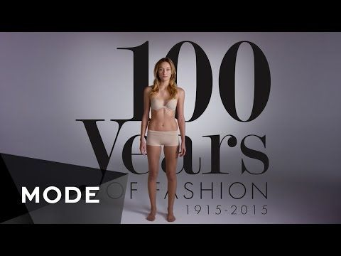100 years of fashion in 2 minutes (Bergie's style closet)