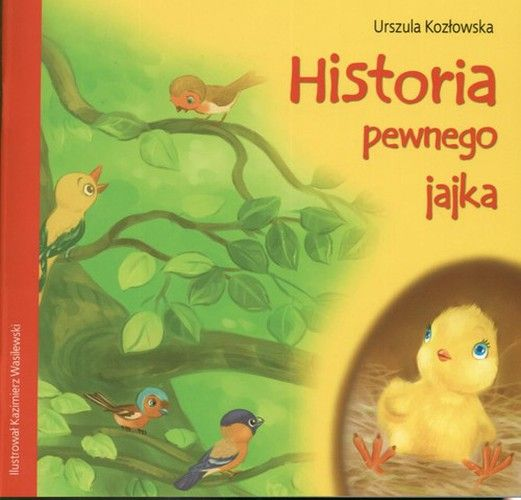 Historia pewnego jajka - Książki dla dzieci do 6 lat