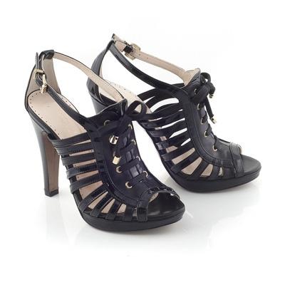 Chaniotakis   Sandal in Black