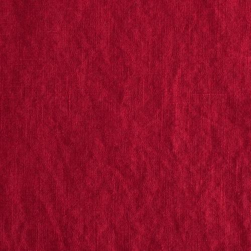 Leinen - Leinen Reinleinen in rot - ein Designerstück von Babettebollmann bei DaWanda