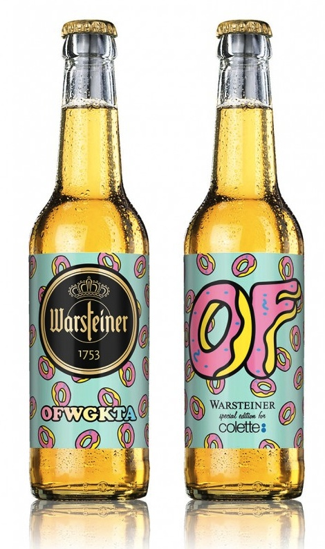Warsteiner x OFWGKTA Special Edition beer mxm