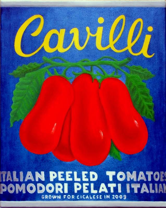 PELATI CAVILLI (2013) #Second #ventennio best made in #Italy #product - #oil #painting #canvas #handmade