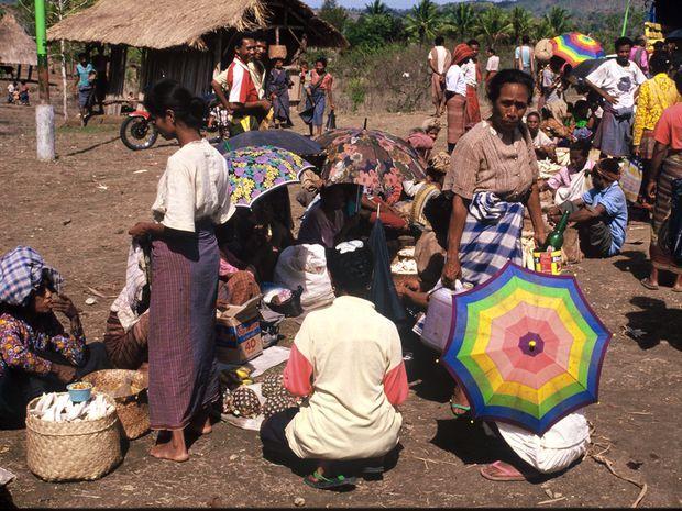 Bewohner von Timor-Leste, besser bekannt als Osttimor.