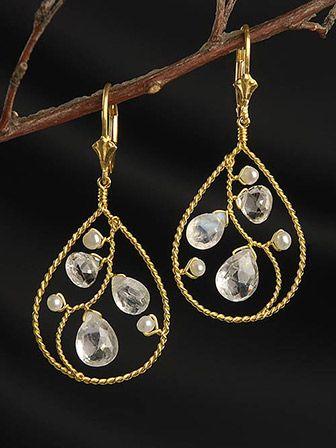 1331 best Woven Wire Earrings images on Pinterest | Jewelry ideas ...