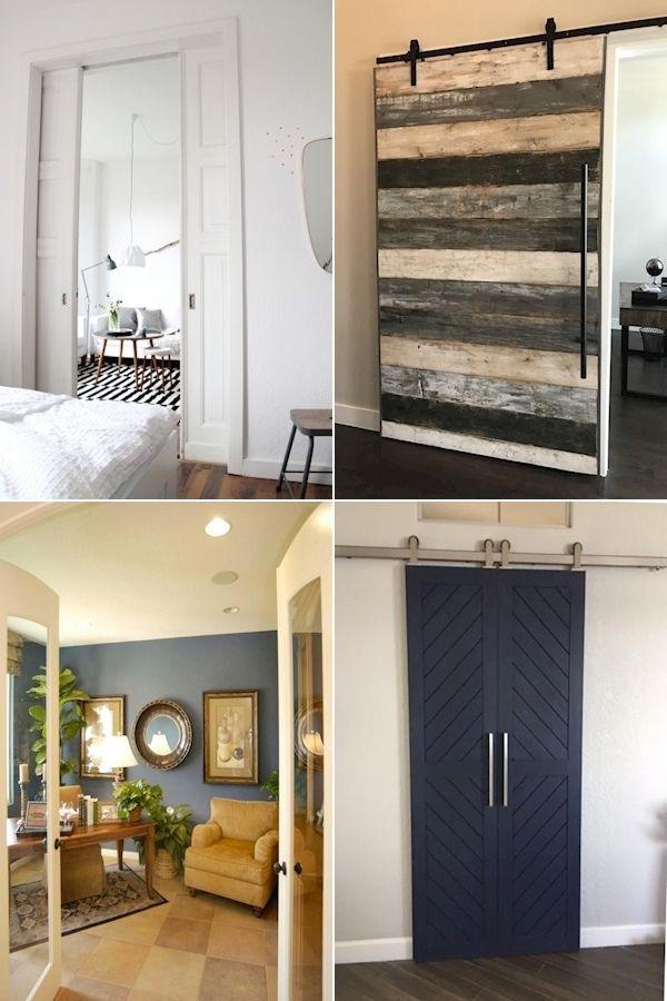 Sliding Mirror Doors Barn Doors For Sliding Glass Doors Sliding Mirror Closet Doors For Bedrooms In 2020 Home Decor Home Diy Sliding Door