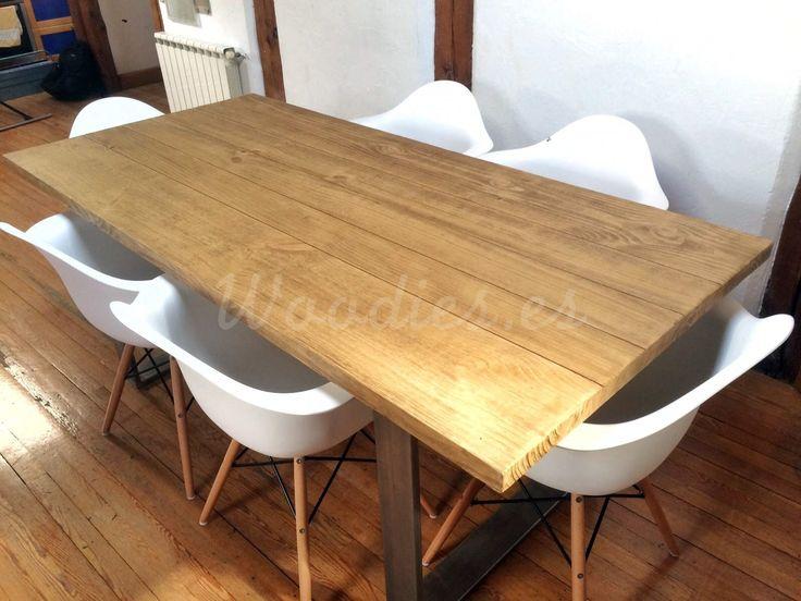 M s de 1000 ideas sobre salones r sticos en pinterest - Mesas comedor plegables tipo consola ...