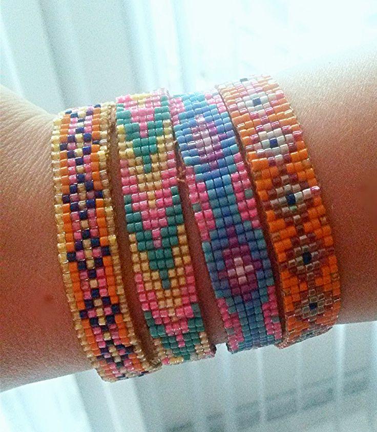 BellaMade DIY: DIY Fashion: Weef kralen armbandjes Ibiza stijl (bead loom bracelet)