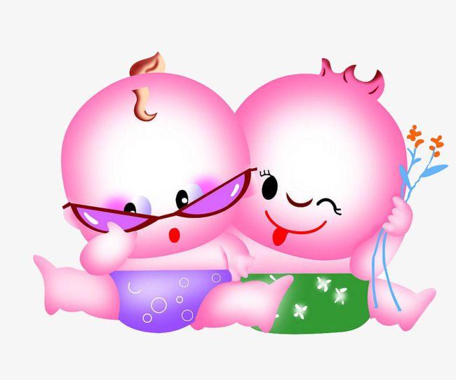 Beaux jumeaux, image PNG, dessin animé, lunettes d'image PNG