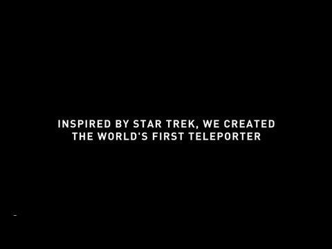 ▶ Star Trek Teleportation Stuns Shoppers - YouTube