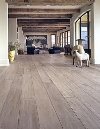 bleached oak floors