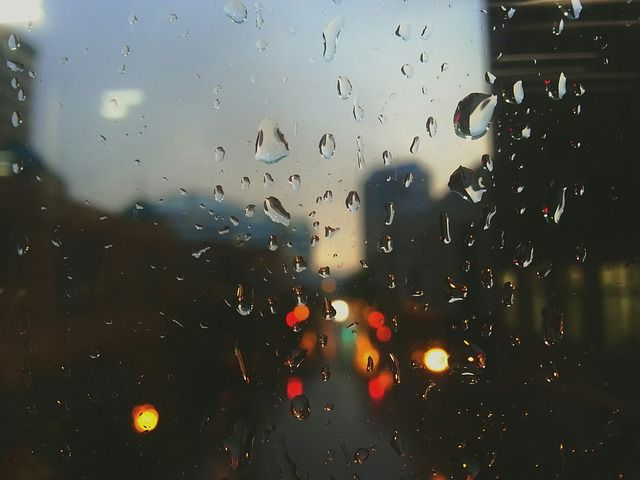 Rain Drops, Rain, Window, Sad, Dark - Free Image on Pixabay