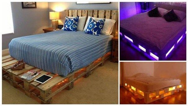 A Step by Step Guide to Creating Wooden Pallet Beds Finally Completed