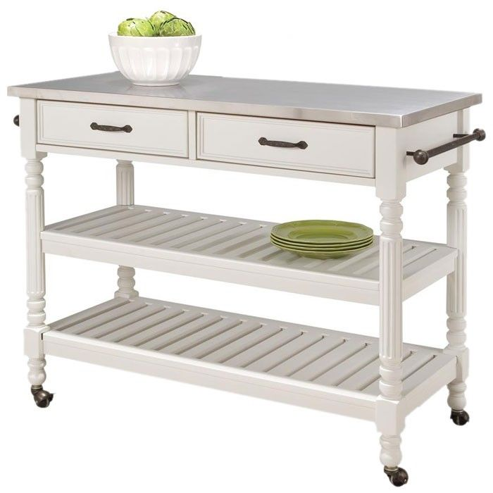 White Kitchen Island Cart top 25+ best island cart ideas on pinterest | wood kitchen island