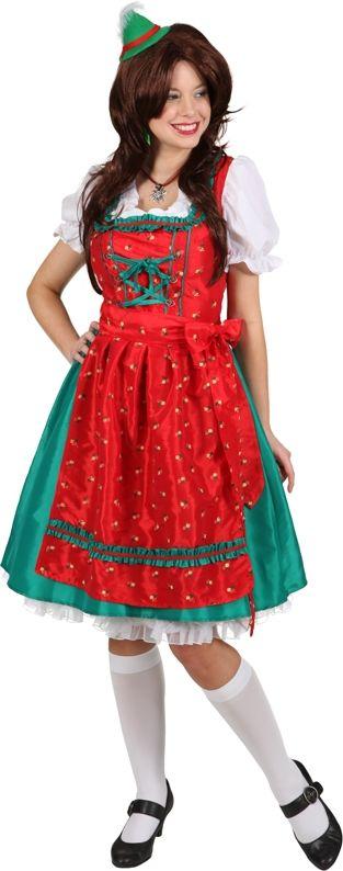 Wiesn Kostüm für Damen. Perfektes Kostüm für Oktoberfest oder Mottoparty zum Thema Bayern. Traditionell und Brav, den Rest muss der Träger machen.