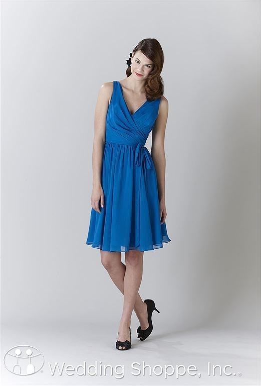 Kennedy Blue Bridesmaid Dress Chloe / 28108 from the Wedding Shoppe, http://www.weddingshoppeinc.com #blue #wedding #bridesmaid $173