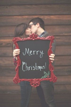 Great idea for a holiday card.: Christmas Pictures, Photo Ideas, Christmas Photo, Frames, Chalkboards Paintings, Christmas Cards Photo, Holidays Cards, Xmas Cards, Merry Christmas