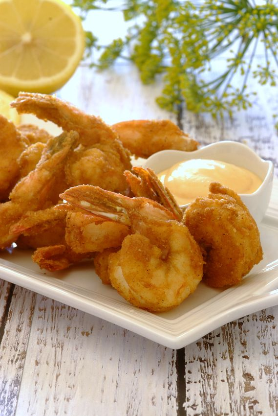 Crispy Prawns with a Sweet Chilli Dip - a sensational starter using Knorr's Crispy & Tasty crumb mixture