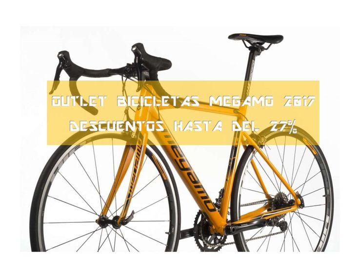 Outlet bicicletas Megamo 2017 con descuentos de hasta 27%