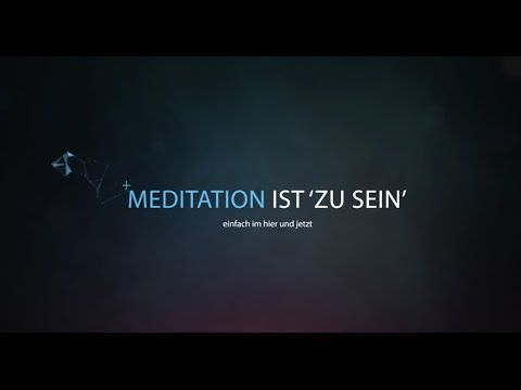 Was ist Meditation? Eine artistische Darstellung...