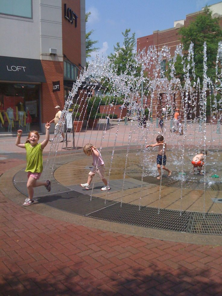 Fountains, Spray Parks and Water Fun in and around Forsyth County, GA
