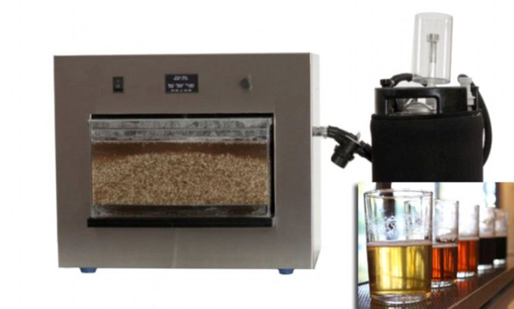 Tabletop beer maker the size of a microwave - ooh, I know someone who'd love that. (Plus imagine making beer with more exotic grains like teff or quinoa?)